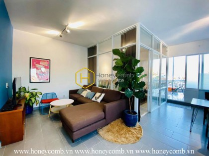 Such a beautiful serviced penthouse apartment with full amenties in District 2