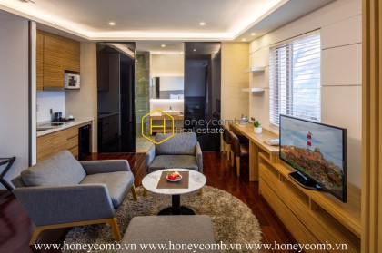 Fantastic! This splendid serviced apartment is all that you need for a dreamy life in Binh Thanh District