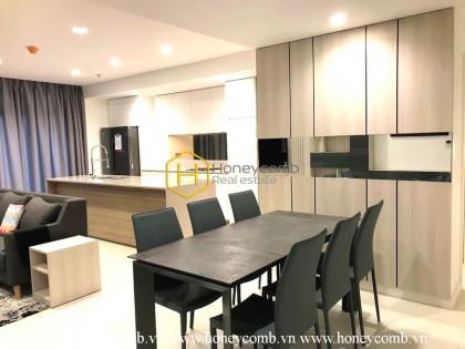 Nice design 3 bedroom apartment in City Garden