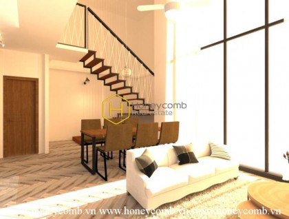 Come and feel the beauty of luxury around here ! D ' Edge Duplex apartment for rent NOW