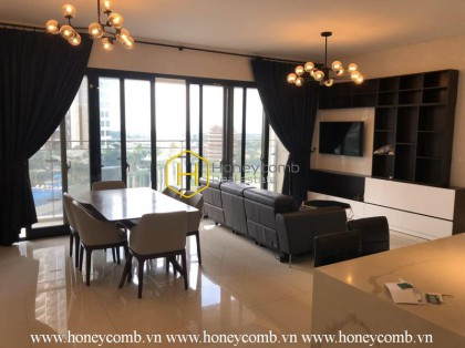 The 3 bedrooms-apartment with hitech style is new in The Estella Heights