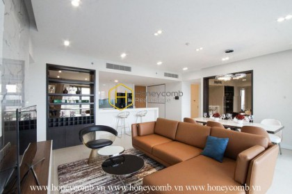Beautiful stylish 4 bedrooms apartment in in Gateway Thao Dien