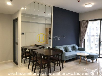 The gorgeous 2 bedroom-apartment for lease in Masteri An Phu