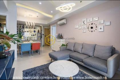 No words can describe the picturesque beauty of this apartment in Masteri Thao Dien