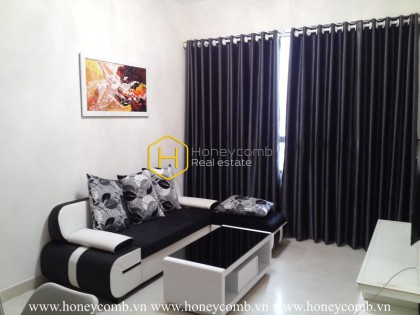 The 1 bed-apartment with simple and lively design suits for you at Masteri Thao Dien