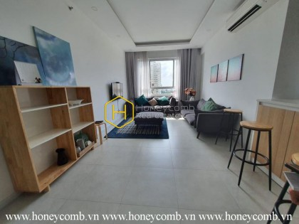 Simple style with 3 bedrooms apartment in Tropic Garden for rent