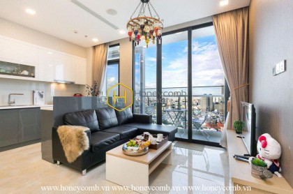 Blending luxury & sophistication to create this 2 bedroom-apartment from Vinhomes Golden River