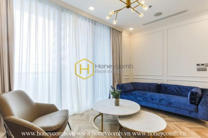 The 2 bedroom-apartment with featured and delicate design in Vinhomes Golden River