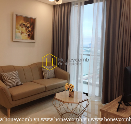 This 1 Bedroom-Apartment With Smart Design And Cheap Price In Vinhomes Golden River