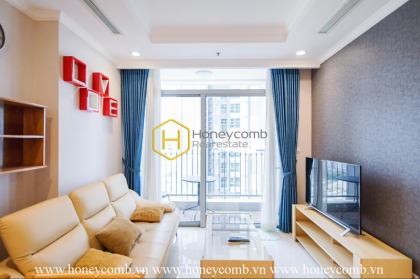 Well lit apartment with stunning decoration in Vinhomes Central Park