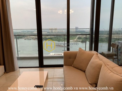 Imagine waking up to see the stunning view in this Vinhomes Golden River apartment