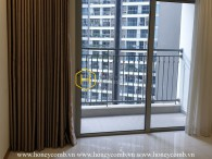 Manually renovate your living space in this unfurnished apartment for rent in Vinhomes Central Park