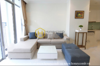 This Vinhomes Central Park apartment creates a close feeling for everyone coming into the area