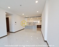 Lovely white unfurnished apartment in Sunwah Pearl