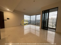 Work your creativity in decorating this unfurnished apartment at Q2 Thao Dien