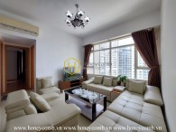 A Saigon Pearl apartment with mysterious contrast tones