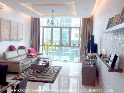 The Vista 3 beds apartment with nice furnished for rent