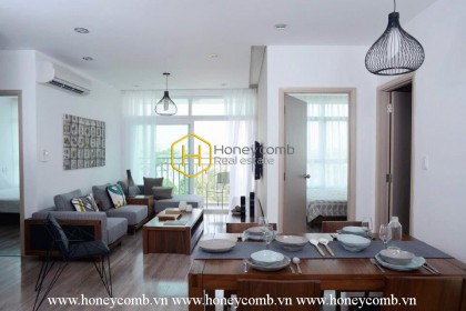 This stunning District 2 serviced apartment for rent makes you unable to refuse