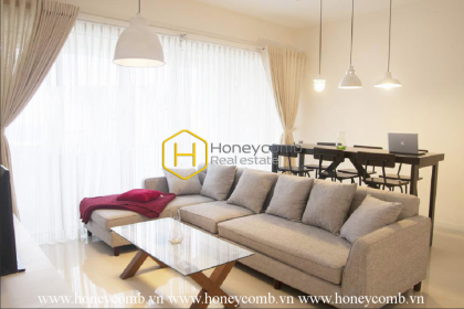 Great! The sun-filled 2 bed-apartment with brilliant design in The Estella