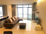 Great! 3 beds apartment luxury in City Garden for rent