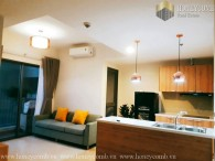Masteri Thao Dien apartment 2 beds with cheap price for rent