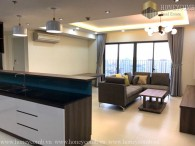 Masteri 3 beds apartment with city view for rent