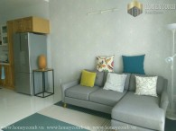 Two beds apartment full furnished in Masteri for rent