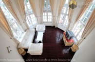 Four bedrooms apartment luxury in Green Plant Village An Phu for rent