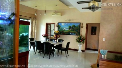 Village 4 bedrooms apartment for rent in Thao Dien, District 2