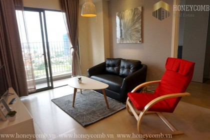 Masteri two beds apartment river view for rent