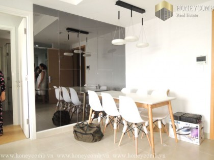 Great! 2 beds apartment river view in Masteri Thao Dien for rent