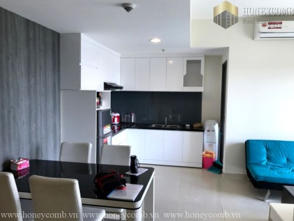 Two beds apartment cheap price in Masteri for rent