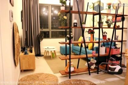 One bedroom apartment luxury design in Masteri for rent