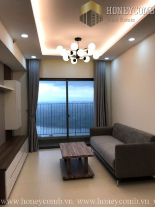 Masteri Thao Dien 2 beds apartment luxury furnished for rent