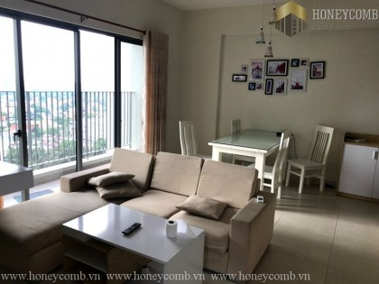 2 beds apartment with balcony wide in Masteri Thao Dien for rent