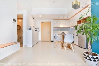 Masteri Thao Dien one bedroom apartment low floor for rent