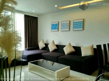 Three beds apartment pool view in Thao Dien Pearl for rent