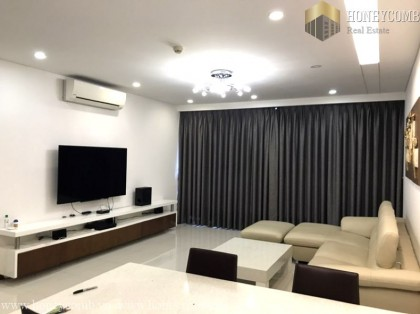 Three beds apartment high floor in Thao Dien Pearl for rent