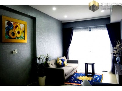 Apartments for rent at good prices Masteri Thao Dien, luxury furniture