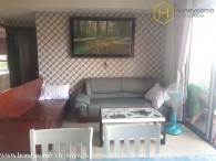 Masteri Thao Dien 3-bedrooms apartment with low floor for rent