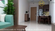 The Ascent Thao Dien 2 beds apartment with high floor for rent