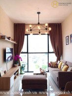 Wonderful 2 bedrooms apartment with nice view in The Ascent Thao Dien