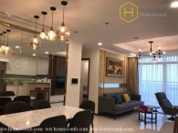 3 bedrooms apartment with Western style in Vinhomes Central Park
