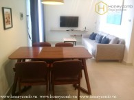 Nice furnished 2 bedrooms apartment in Masteri Thao Dien for rent