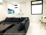 Serviced apartment with nice for rent