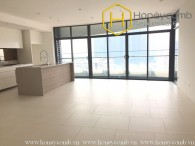 Unfurnished 3 beds apartment with high floor in City Garden