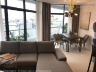 Brand new 2 beds apartment with furnished in City Garden