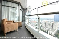 City Garden 3 beds apartment with city view and furnished