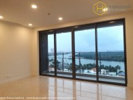 Unfurnished 3 beds apartment with river view in The Nassim Thao Dien
