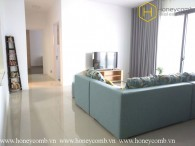 Spacious 3 beds apartment with new furniture in The Estella Heights